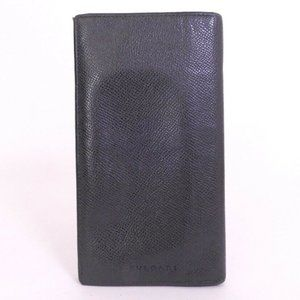 BVLGARI Leather Bifold Wallet***